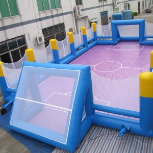 Rent BOUNCY FOOTBALL FIELD