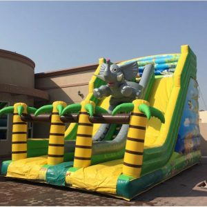 Big and Funny Elephant Slide