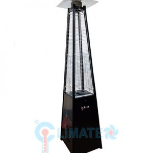 Pyramid patio heater rental (black) Rental