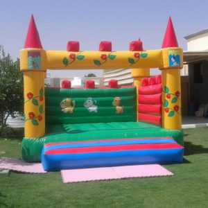 Small Funny Animals Bouncy Castle Rental