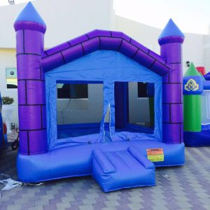 SMALL BOUNCY BlUE CASTLE Rental