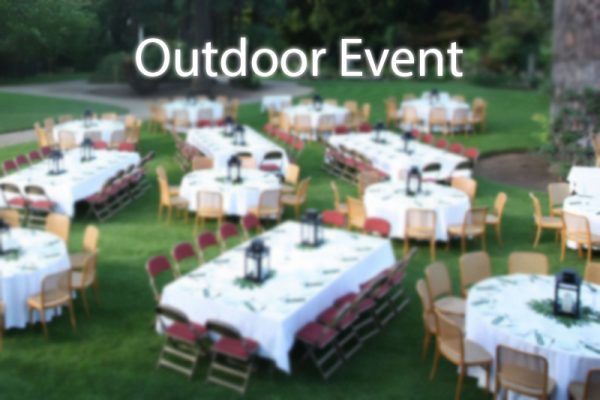 Outdoor Event Package (Open Sky Cheerios, Cooler, AC and Misting fan)
