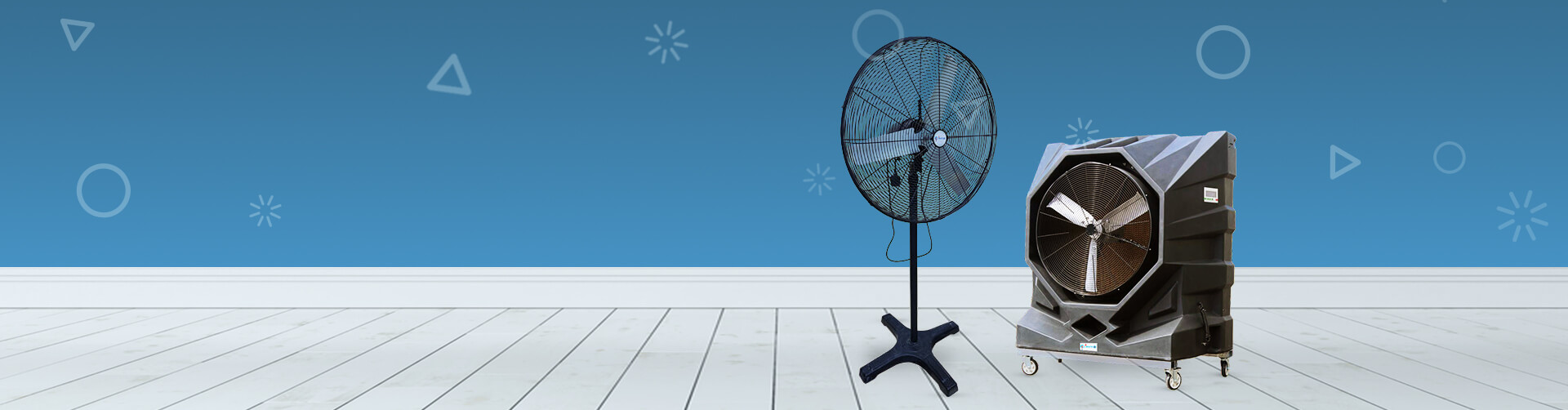 Stay Cool with Portable Cooling Fans from Rental Joy