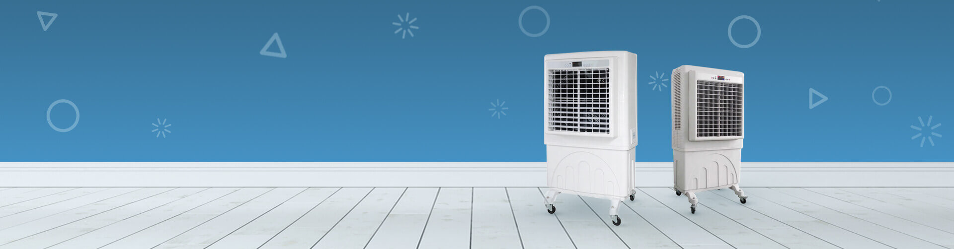 Fight Off the Summer Heat  with AC's & Air Coolers from Rental Joy
