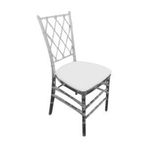 Rent Acrylic Criss cross Chair