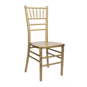 Gold Chivari Chair for Rent