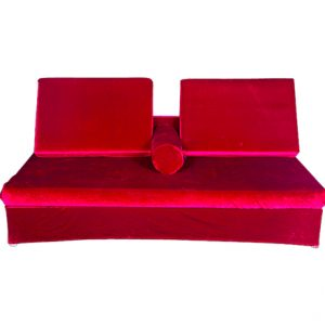 Majilis Style Seating Burgundy