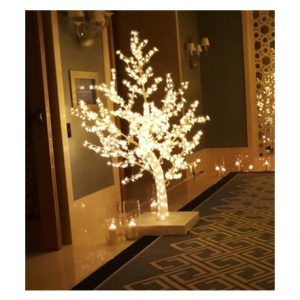 Rent Short LED Tree – Warm White