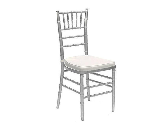Rent Silver Chivari Chair