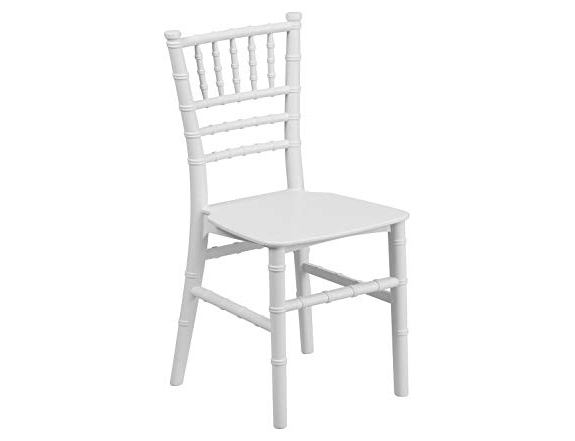 White Chivari Chair for Rent