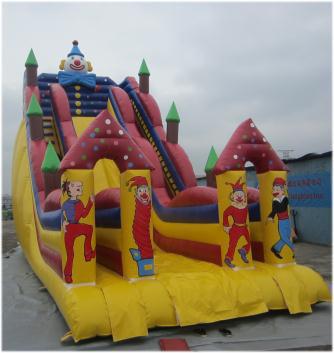 Rent Clown Big Slide