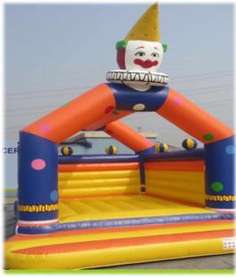 Rent Clown Bouncing Castle
