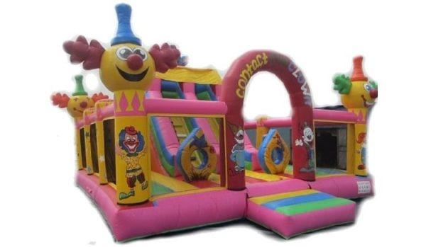 Rent New Clown Combo (Slide & Bouncy)