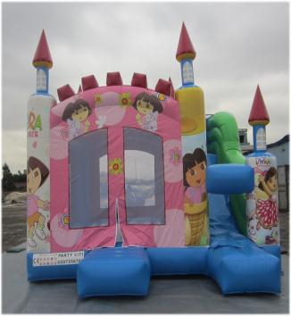 Rent Dora Combo (Slide & Bouncy)
