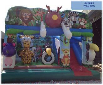 Rent Jungle Combo (Slide & Bouncy)