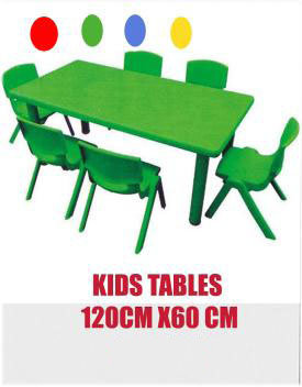 Rent Kids Colored Table