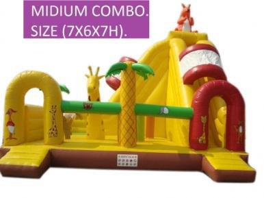 Rent Medium Combo (Slide & Bouncy)