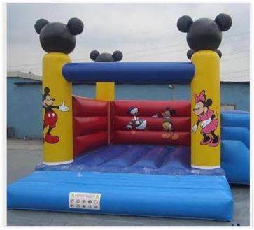 Rent New Mickey and Mini Combo (Small Slide & Bouncy)