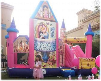 Rent Princess Old Combo (Slide & Bouncy)