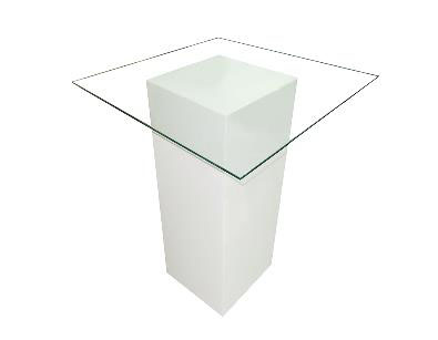 Rent Glass High Table