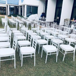 Rent White Chivari Chairs