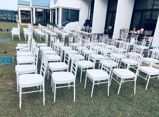 Rent White Chivari Chairs