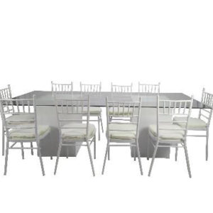 Rent Glass Dining Table