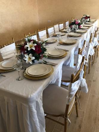 Rent Rectangular Dining Table